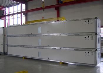 FB20 en FB45 Langmateriaal Container